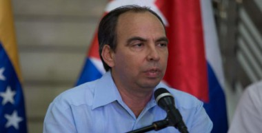 Rogelio Polanco, embajador de Cuba en Venezuela