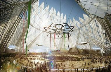 Al Wasl, la plaza proyectada para ser el epicentro de la Exposición Universal